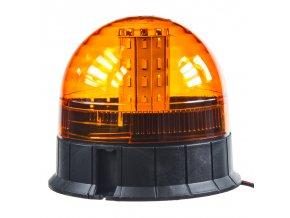 LED maják, 12-24V, 40x 5730SMD LED, oranžový, ECE R10
