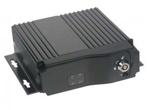Černá skříňka pro záznam obrazu ze 4 kamer, 2x slot SD