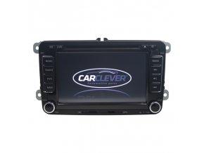 """Autorádio pro VW, Škoda s 7"""" LCD, GPS, zelené, ČESKÉ MENU"""