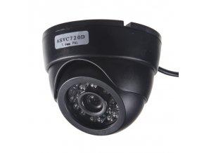 x AHD 720P kamera 4PIN CCD SHARP s IR, vnitřní v plastovém obalu