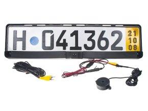 Parkovací systém s kamerou a 2 senzory v SPZ