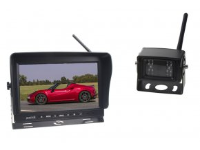 """SET bezdrátový digitální kamerový systém / 1 x 4pin s monitorem 9"""""""