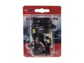 CSP LED HB4 bílá, 12-24V, 3x10W, chrom