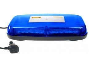 Rampa modrá, 36LEDx1W, magnet, 12-24V, 360mm, ECE R10