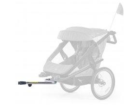 stroller hinge bicykle clutch T-006-Velo  Adaptér ke kočárku