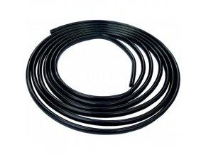 SAMOLEPÍCÍ ozdobná lišta nasunovací 3m 8x6mm černá 64-28