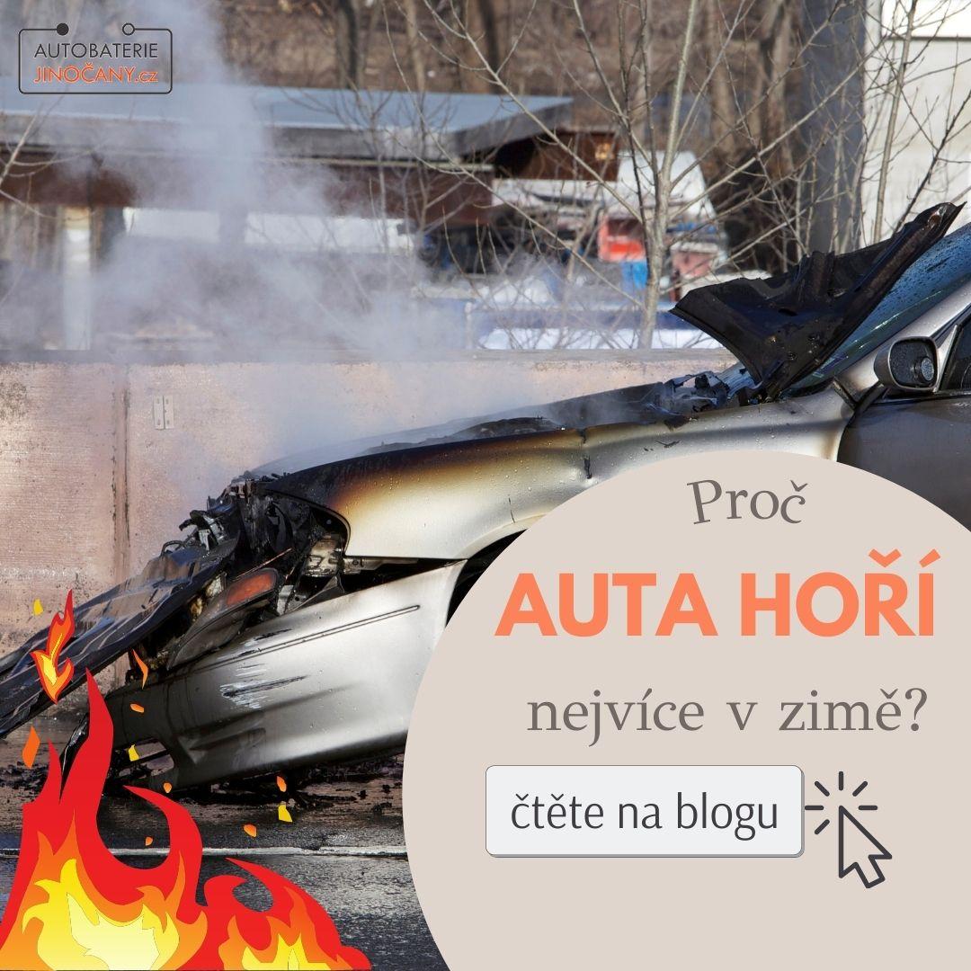 Proč auto hoří častěji v zimě?