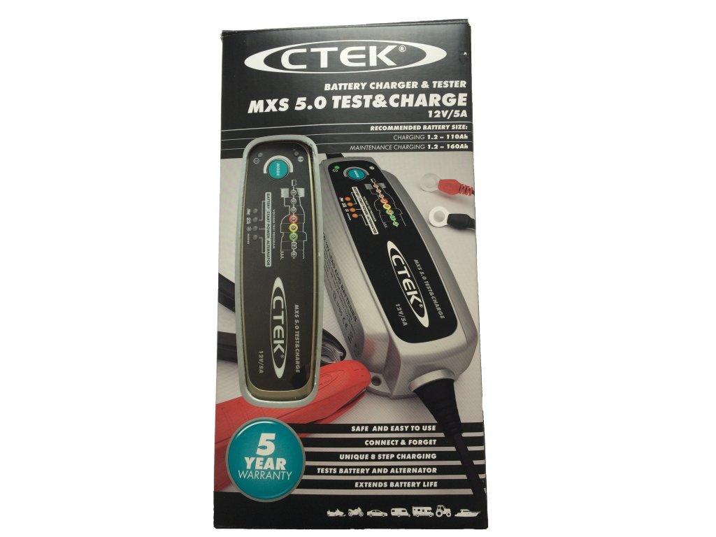 Nabíječka CTEK MXS 5.0 TEST & CHARGE