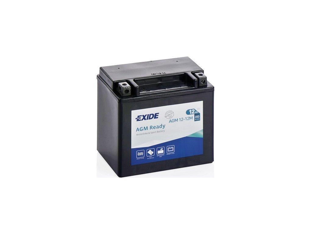 EXIDE 12V 12Ah 200A AGM12-12