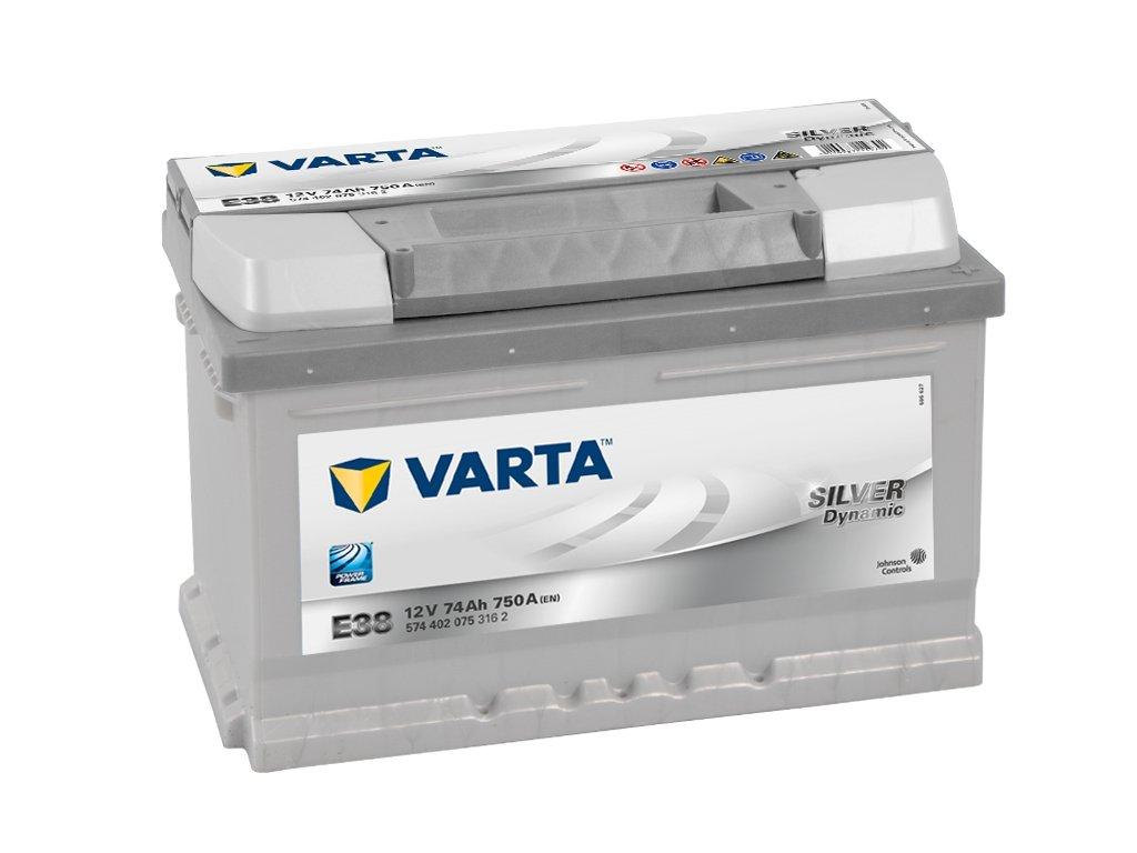 Varta Silver Dynamic 12V 74Ah 750A 574 402 075