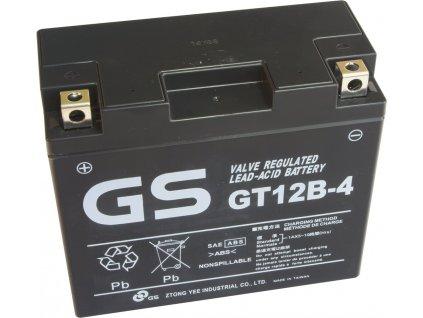 motobaterie yuasa gs gt12b 4 12v 10ah 180a original