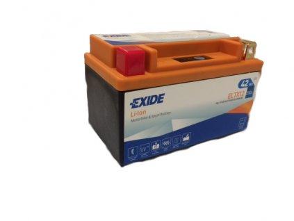 Motobaterie EXIDE BIKE Li-Ion 12V 3,5Ah 210A ELTX12