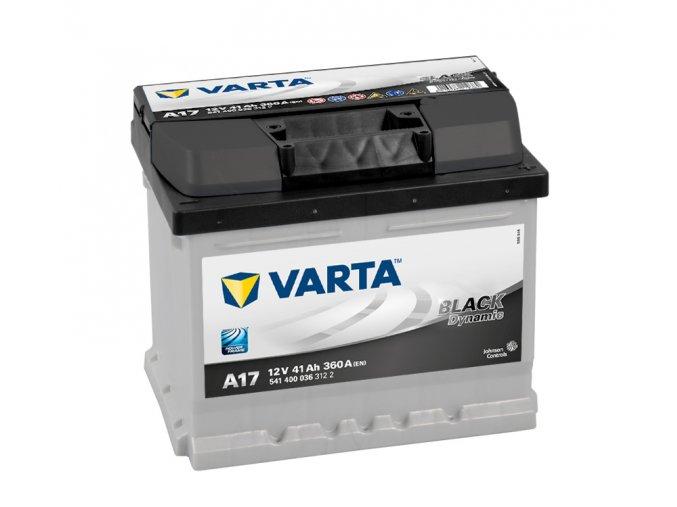 Varta Black Dynamic 12V 41Ah 360A 541 400 036