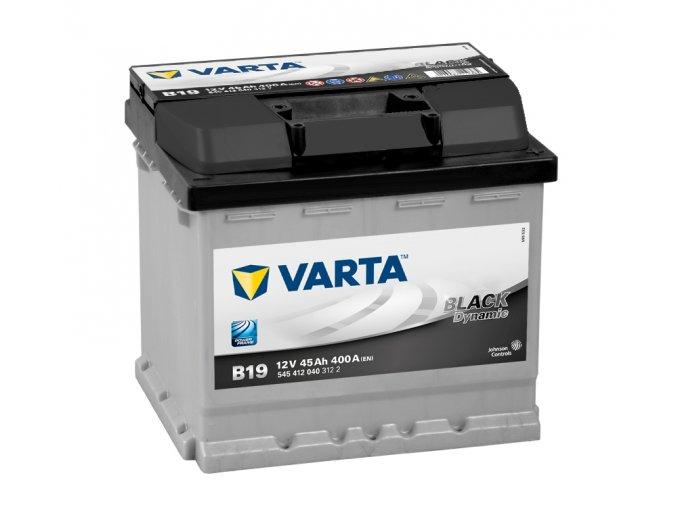Varta Black Dynamic 12V 45Ah 400A, 545 412 040