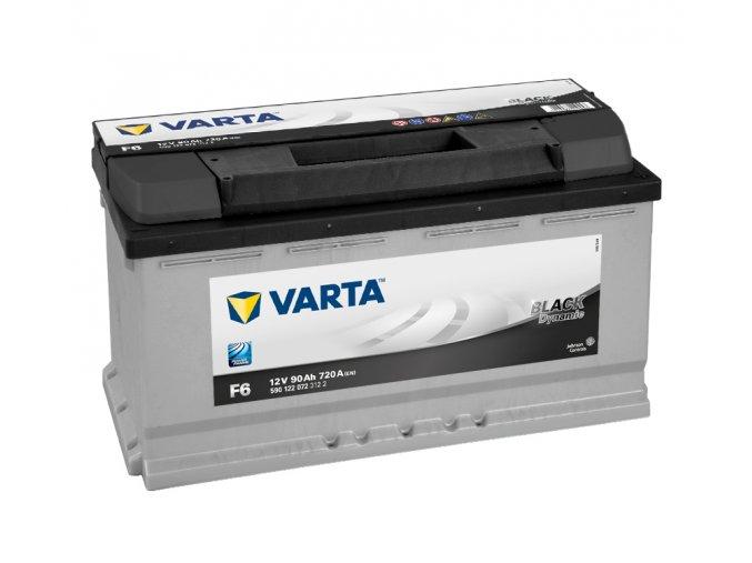 Varta Black Dynamic 12V 90Ah 720A, 590 122 072