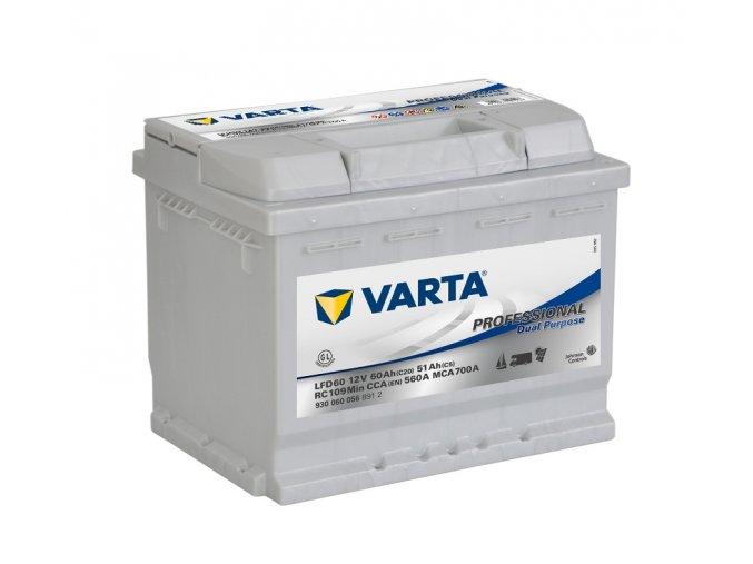 Varta Professional DC 12V 60Ah 560A, 930 060 056