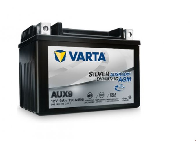 Silver auxiary dynamic AGM 12V 9Ah 130A