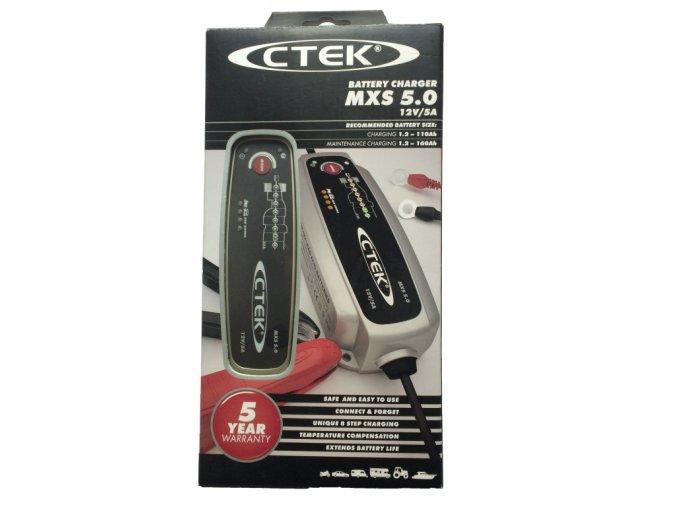 Nabíječka CTEK MXS 5.0 s teplotním čidlem