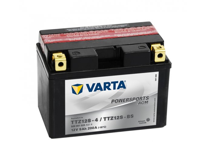 VARTA Powersports AGM, 12V 9Ah 200A, 509901020