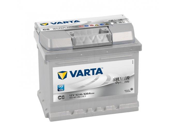 Varta Silver Dynamic 12V 52Ah 520A, 552 401 052
