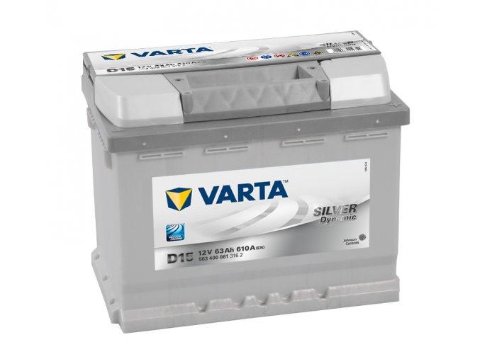 Varta Silver Dynamic 12V 63Ah 610A, 563 400 061
