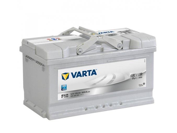 Varta Silver Dynamic 12V 85Ah 800A, 585 200 080