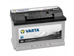 Varta Black Dynamic 12V 70Ah 640A, 570 144 064  plně nabitá autobaterie + reflexní páska zdarma