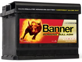 Banner Running Bull AGM 12V 60Ah 640A 56001