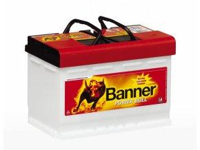 Banner Power Bull 12V 77Ah 680A P7740  plně nabitá autobaterie - VÝPRODEJ 2018 + reflexní páska zdarma