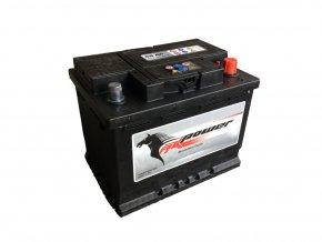 Autobaterie AK Power 56 Ah, 480 A, AK 556 59