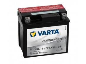 VARTA Powersports AGM 12V 4Ah 80A, 504012003