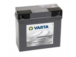 VARTA Powersports Gel 12V 19Ah 170A, 519901017
