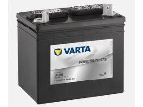 VARTA Powersports Gardening 12V 22Ah 340A, 522 450 034  plně nabitá autobaterie + reflexní páska zdarma