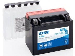 Exide AGM 12V 10Ah 150A ETX12 BS