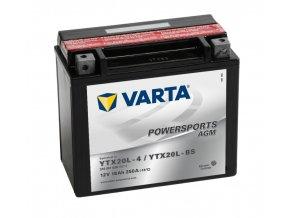 VARTA Powersports AGM 12V 18Ah 250A, 518901026