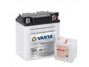 VARTA Powersports Freshpack 6V 6Ah 30A, 006012003