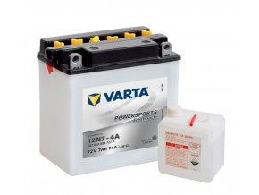 VARTA Powersports Freshpack 12V 7Ah 74A, 507013004