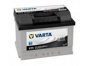 Varta Black Dynamic 12 V 53Ah 500A, 553401050  plně nabitá autobaterie + reflexní páska zdarma