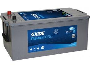 Autobaterie EXIDE Professional Power 12V 235Ah 1300A EF2353