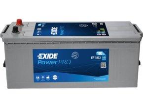 Autobaterie Exide Professional Power 12V 185Ah 1150A EF1853