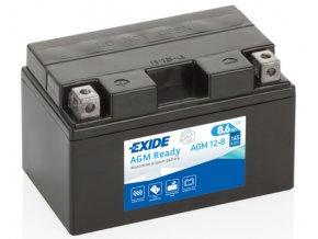 Motobaterie Exide 12V 8,6Ah 150A AGM12-8