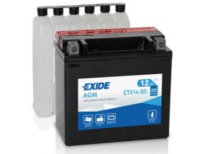 Exide 12V 12Ah 200A ETX14-BS