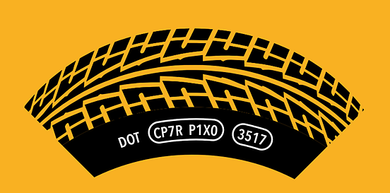 Datum výroby pneumatik DOT