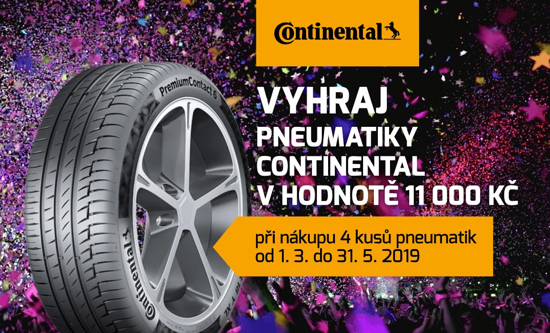 Soutěž o pneumatiky Continental