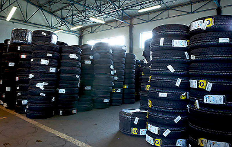 Sklad pneumatik - E-shop autobaterie-pneumatiky.cz - Vehar Service s.r.o.