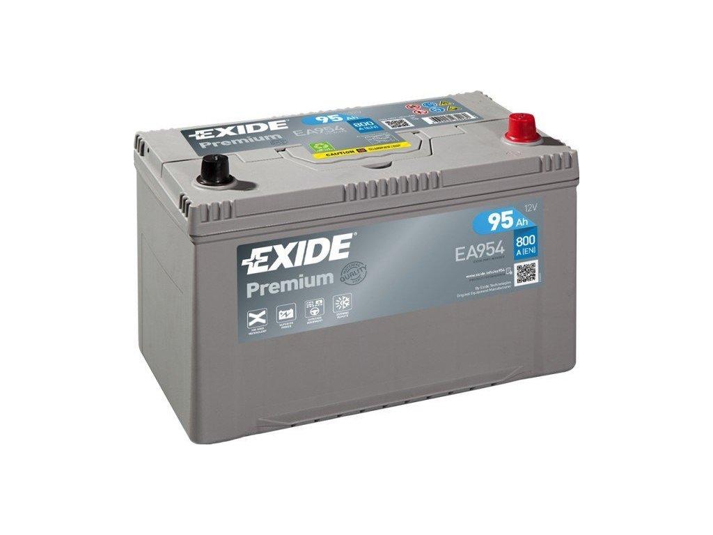 29901 exide 12v 95ah premium carbon boost ea 954