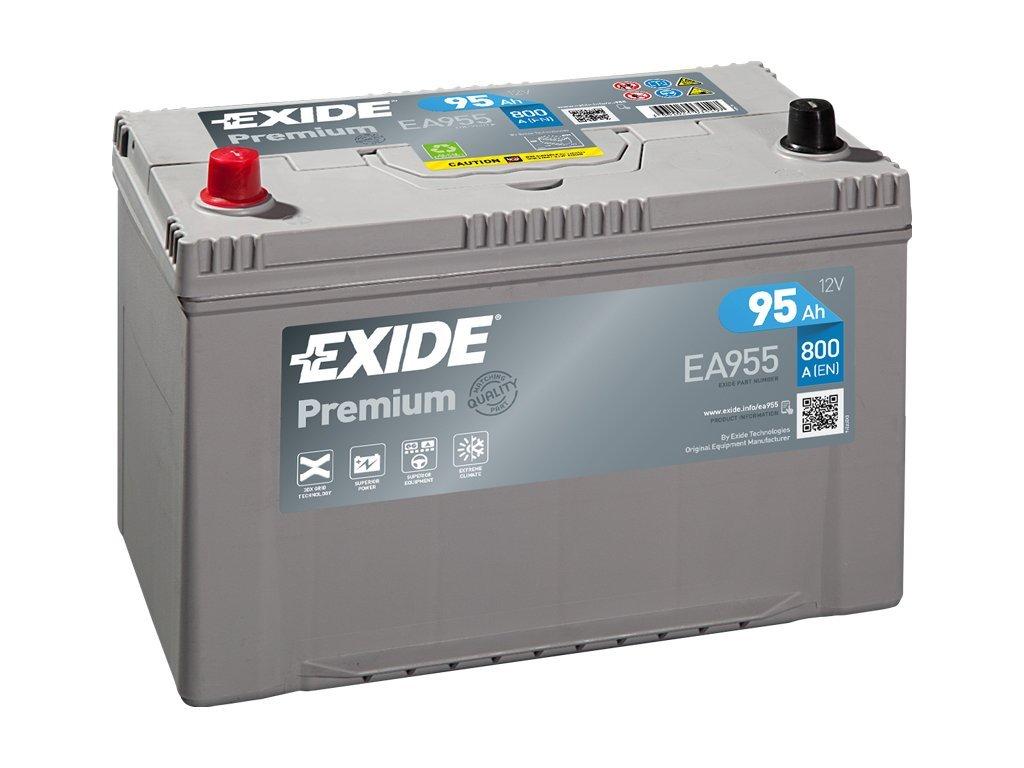 29904 exide 12v 95ah premium carbon boost ea 955