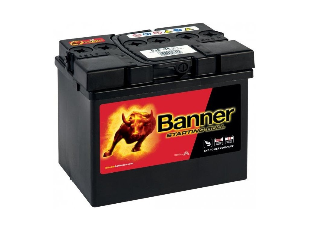 banner starting bull 12v 45ah 300a 54577 original