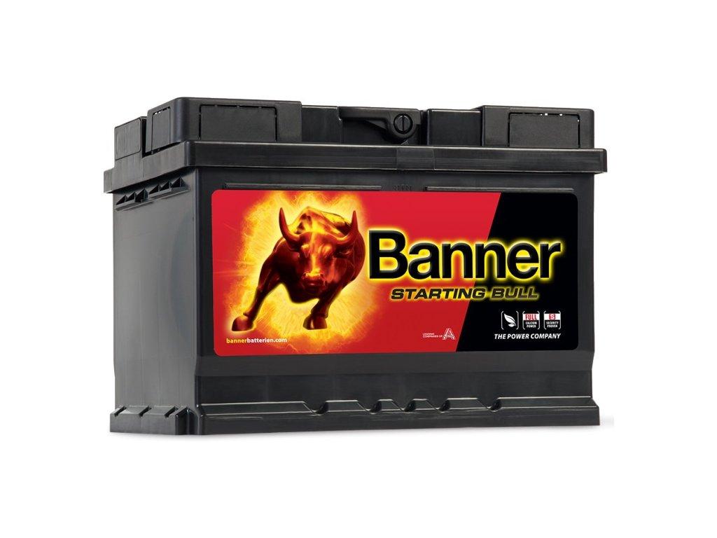 banner starting bull 12v 55ah 450a 55519 original