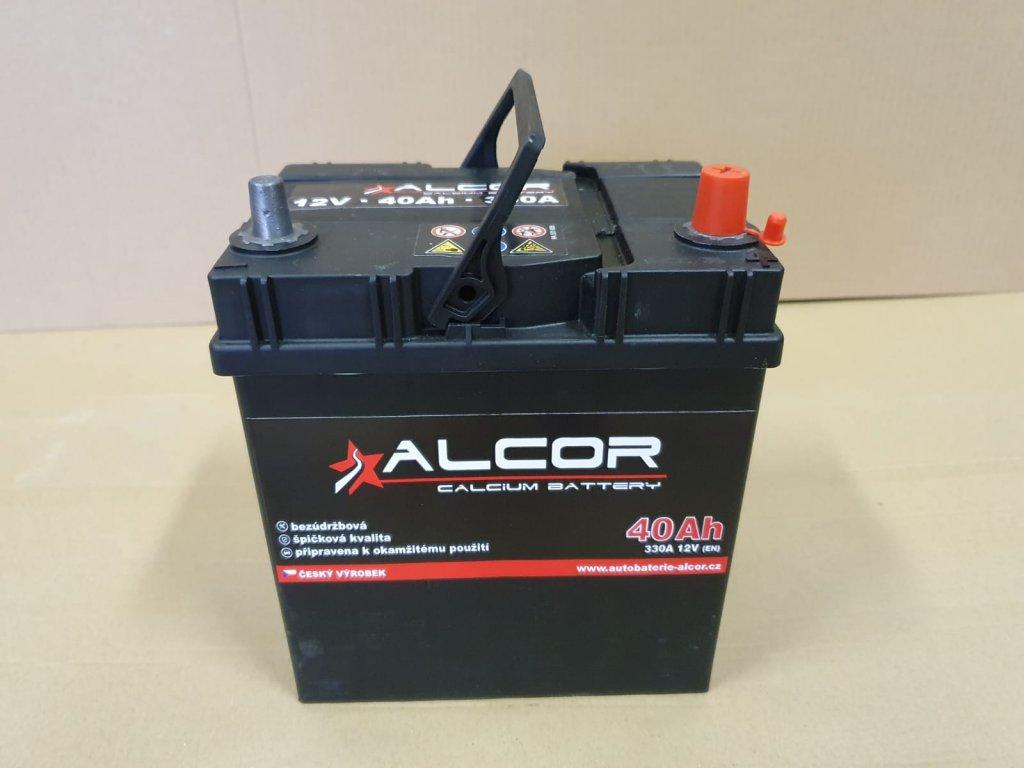 Autobaterie Alcor 12V 40Ah 300A 54018 Asia